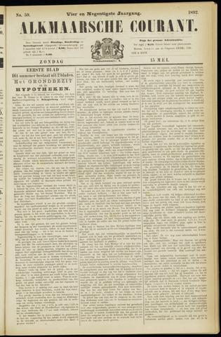 Alkmaarsche Courant 1892-05-15
