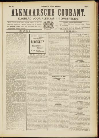 Alkmaarsche Courant 1909-02-15