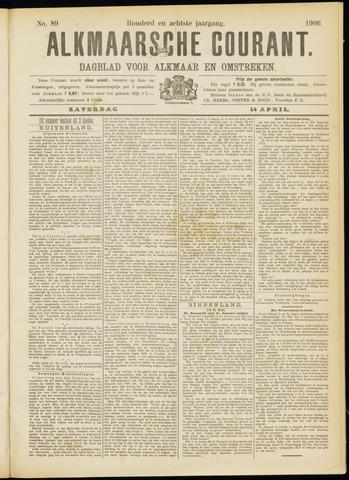 Alkmaarsche Courant 1906-04-14