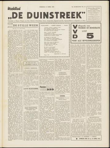 De Duinstreek 1954-04-16