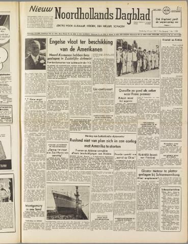 Nieuw Noordhollandsch Dagblad : voor Alkmaar en omgeving 1950-06-29