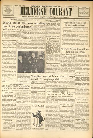 Heldersche Courant 1952-01-15