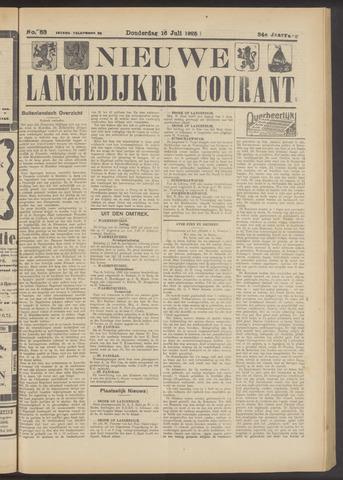 Nieuwe Langedijker Courant 1925-07-16