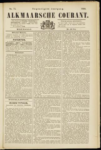 Alkmaarsche Courant 1888-06-20
