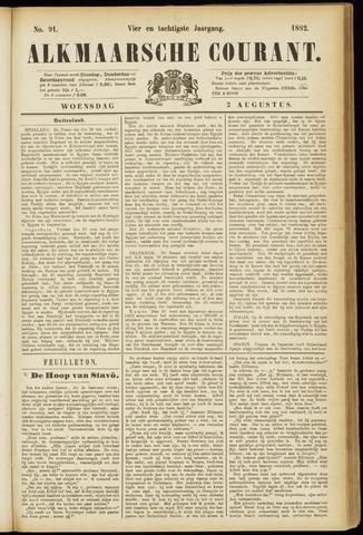 Alkmaarsche Courant 1882-08-02