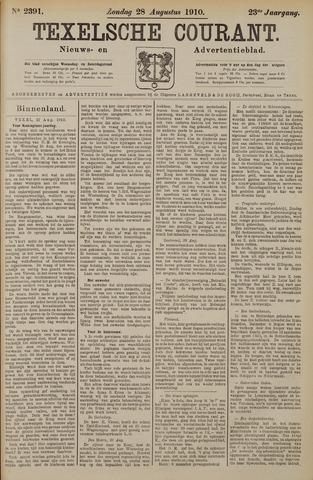 Texelsche Courant 1910-08-28