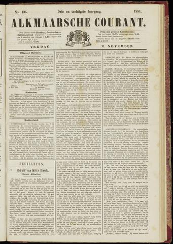 Alkmaarsche Courant 1881-11-11