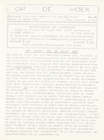 Op De Hoek, weekblad voor Akersloot 1961-03-24