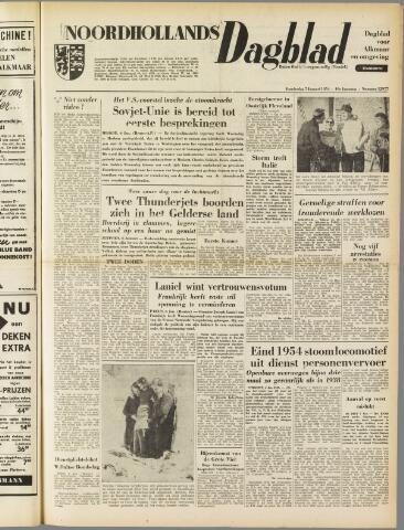 Noordhollands Dagblad : dagblad voor Alkmaar en omgeving 1954-01-07