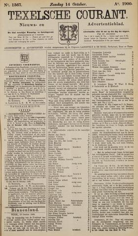 Texelsche Courant 1900-10-14