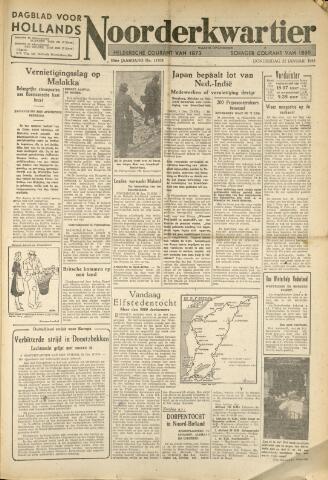 Heldersche Courant 1942-01-22