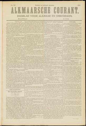 Alkmaarsche Courant 1914-07-06