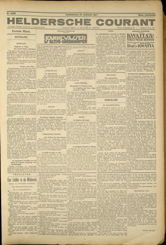 Heldersche Courant 1927-01-20