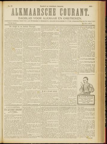 Alkmaarsche Courant 1918-03-22