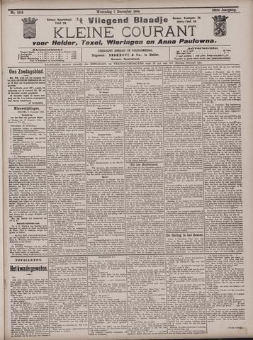 Vliegend blaadje : nieuws- en advertentiebode voor Den Helder 1904-12-07