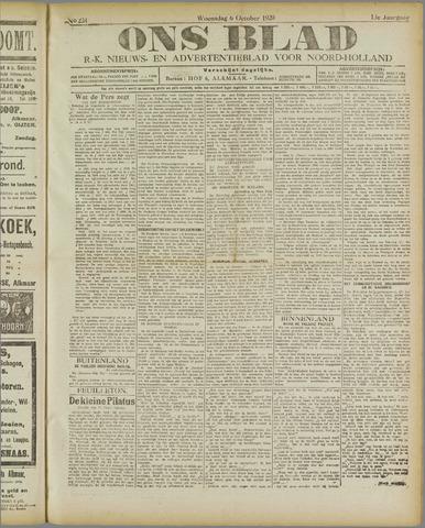 Ons Blad : katholiek nieuwsblad voor N-H 1920-10-06
