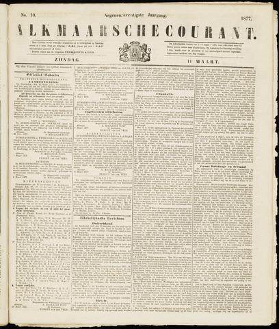Alkmaarsche Courant 1877-03-11