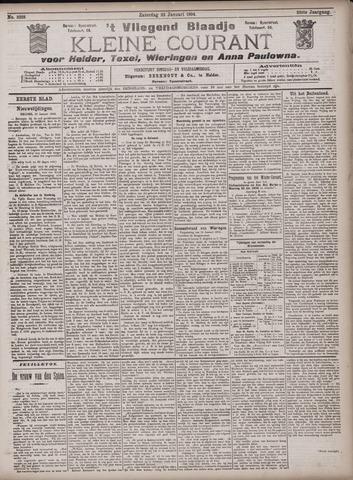 Vliegend blaadje : nieuws- en advertentiebode voor Den Helder 1904-01-23