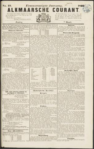 Alkmaarsche Courant 1869-03-07