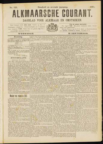 Alkmaarsche Courant 1905-09-13