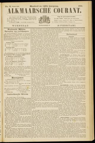 Alkmaarsche Courant 1903-02-18