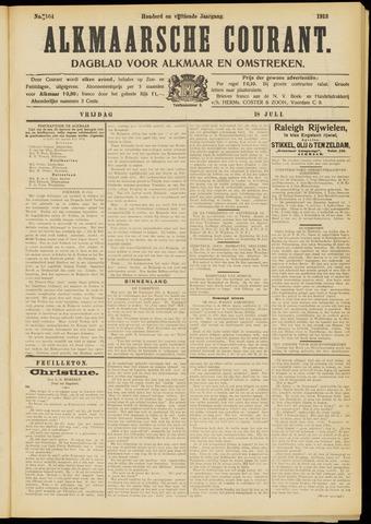 Alkmaarsche Courant 1913-07-18