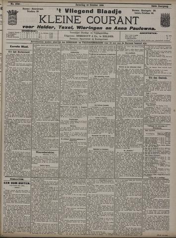 Vliegend blaadje : nieuws- en advertentiebode voor Den Helder 1908-10-10