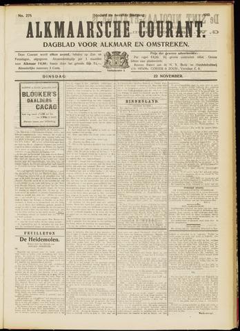 Alkmaarsche Courant 1910-11-22
