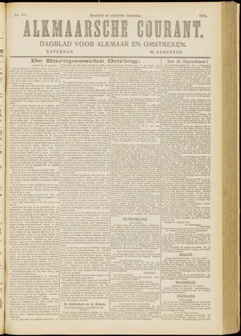 Alkmaarsche Courant 1914-08-15