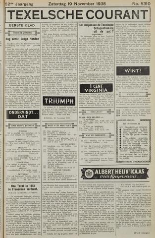 Texelsche Courant 1938-11-19