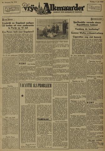 De Vrije Alkmaarder 1947-07-04