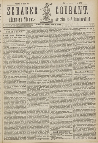 Schager Courant 1920-03-31