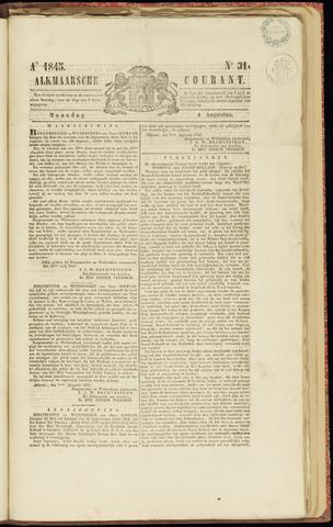 Alkmaarsche Courant 1845-08-04