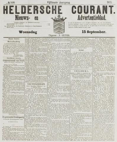 Heldersche Courant 1875-09-15