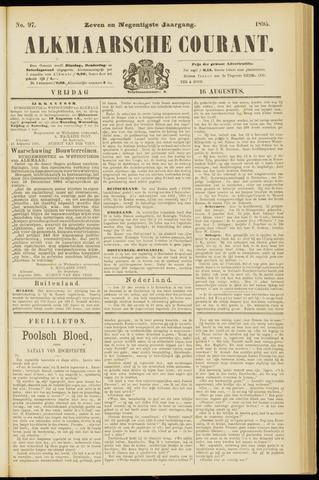 Alkmaarsche Courant 1895-08-16