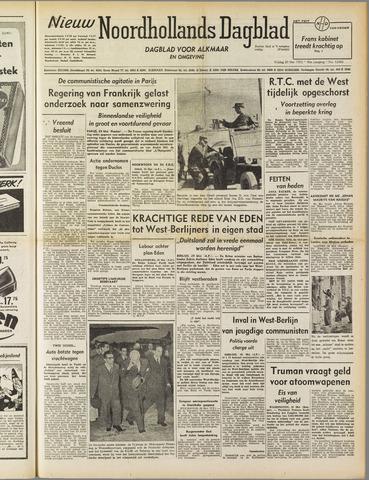 Nieuw Noordhollandsch Dagblad : voor Alkmaar en omgeving 1952-05-30