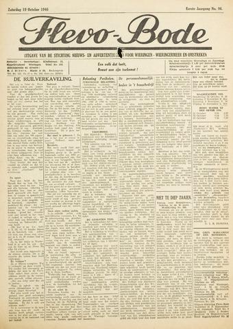 Flevo-bode: nieuwsblad voor Wieringen-Wieringermeer 1946-10-19