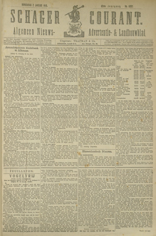 Schager Courant 1919