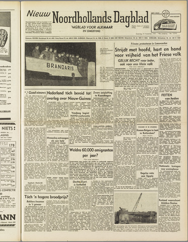 Nieuw Noordhollandsch Dagblad : voor Alkmaar en omgeving 1951-11-24