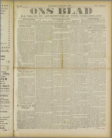 Ons Blad : katholiek nieuwsblad voor N-H 1920-12-02