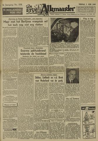 De Vrije Alkmaarder 1949-06-03