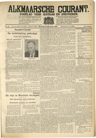 Alkmaarsche Courant 1934-09-24