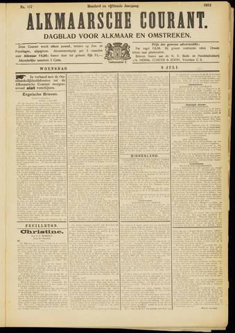 Alkmaarsche Courant 1913-07-09
