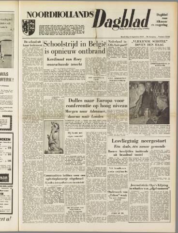 Noordhollands Dagblad : dagblad voor Alkmaar en omgeving 1954-09-16