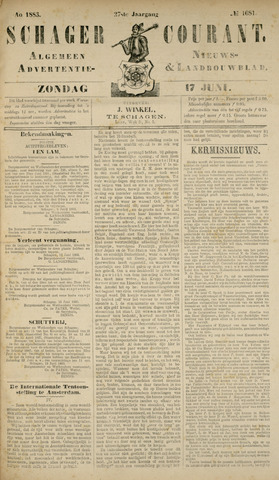 Schager Courant 1883-06-17