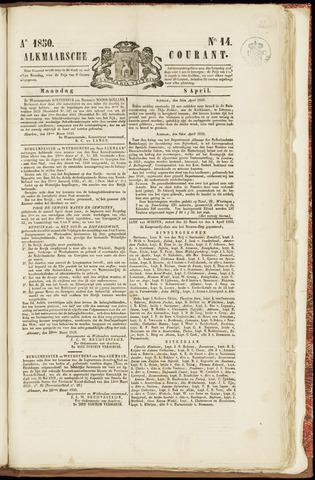 Alkmaarsche Courant 1850-04-08