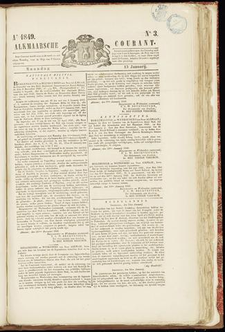 Alkmaarsche Courant 1849-01-15