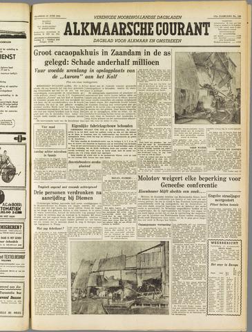 Alkmaarsche Courant 1955-06-27