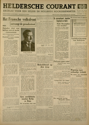Heldersche Courant 1938-10-28