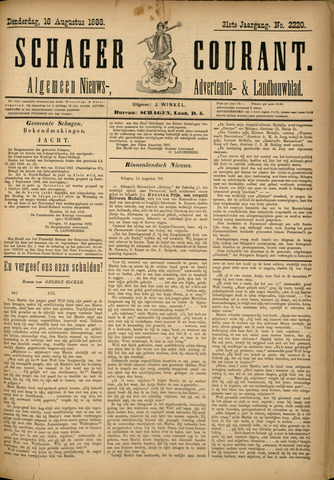 Schager Courant 1888-08-16